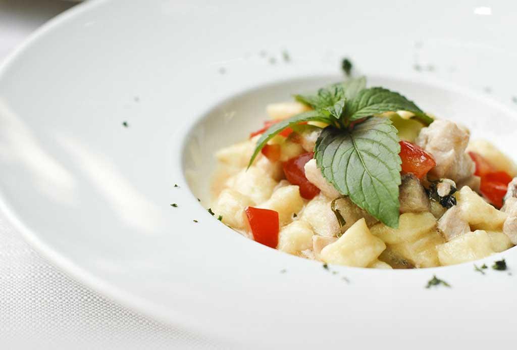 Il menu preparato con ingredienti selezionati - Ristorante Vittorio Veneto Cherasco